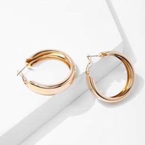 Jewelry - Brand new hollow hold hoops